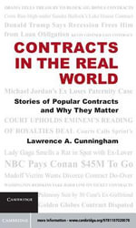 Contracts in the Real World - Lawrence A. Cunningham