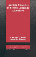Learning Strategies in Second Language Acquisition - J. Michael O'Malley