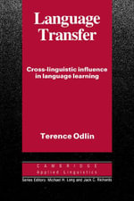 Language Transfer - Terence Odlin
