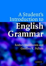 A Student's Introduction to English Grammar - Rodney Huddleston