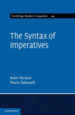 The Syntax of Imperatives - Asier Alcazar