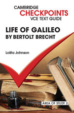 Checkpoints VCE Text Guides : Life of Galileo by Bertolt Brecht - Lolita Johnson