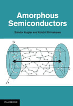 Amorphous Semiconductors - Sándor Kugler