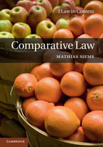 Comparative Law - Mathias Siems