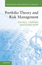 Portfolio Theory and Risk Management - Maciej J. Capi Ski