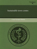 Sustainable Town Center. - Cesar Enrique Ramos