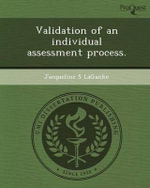 Validation of an Individual Assessment Process. : A Study of Homosexual Identity and Choice of Milit... - Jacqueline S Laganke