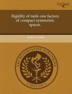 Rigidity of Rank-One Factors of Compact Symmetric Spaces. - Andrew Clarke