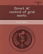 Direct AC Control of Grid Assets. - Jyoti Sastry