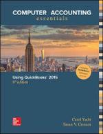 Computer Accounting Essentials Using Quickbooks 2015 - Carol Yacht