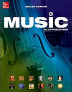 MP3 Download Card for Music : An Appreciation, Brief - Roger Kamien, Comp