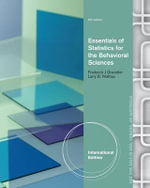 Essentials of Statistics for the Behavioral Sciences - Frederick J. Gravetter