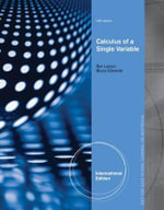 Calculus of a Single Variable - Ron Larson