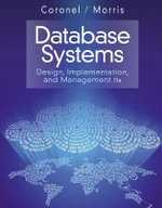 Databse Systems : Design, Implementation, and Management - Carlos Coronel