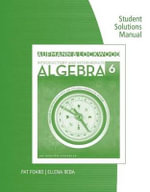 Student Solutions Manual for Aufmann/Lockwood's Introductory and  Intermediate Algebra : An Applied Approach, 6th - Aufmann/Lockwood