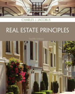 Real Estate Principles - Charles Jacobus