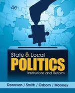 State and Local Politics : Institutions and Reform - Christopher Mooney