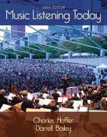 Music Listening Today - Darrell Bailey
