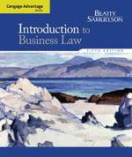 Cengage Advantage Books : Introduction to Business Law - Jeffrey Beatty