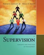 Supervision : Concepts and Practices of Management - Kelly Trusty