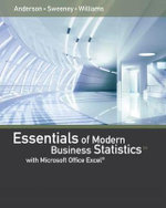 Essentials of Modern Business Statistics with Microsoft Excel - David Anderson