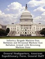 Infantry Brigade Machine Gun Battalion and Divisional Machine Gun Battalion Armed with Browning Machine Guns