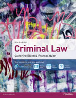 Criminal Law MyLawChamber Pack - Catherine Elliott
