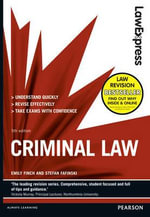 Law Express : Criminal Law - Emily Finch