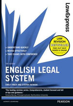 Law Express : English Legal System - Emily Finch