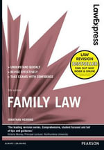 Law Express : Family Law - Jonathan Herring