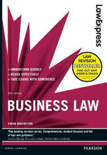 Law Express : Business Law - Ewan MacIntyre