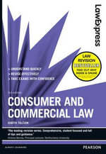 Law Express : Consumer and Commercial Law - Judith Tillson