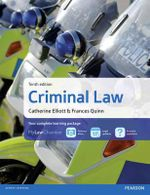 Criminal Law - Catherine Elliott