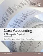 Cost Accounting, Global Edition - Madhav Rajan