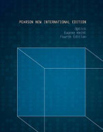 Optics : Pearson New International Edition - Eugene Hecht
