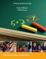 Thinking Mathematically - Robert F. Blitzer