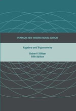 Algebra and Trigonometry - Robert F. Blitzer