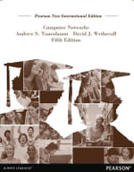 Computer Networks : Pearson New International Edition: 5th edition, 2013  - Andrew S. Tanenbaum
