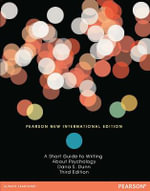 Short Guide to Writing About Psychology : Pearson New International Edition - Dana S. Dunn