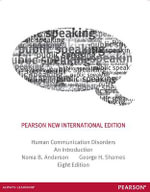 Human Communication Disorders : An Introduction : 8th Edition - Noma B. Anderson