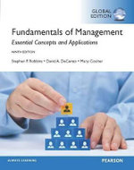 Fundamentals of Management, Global Edition - Stephen P. Robbins