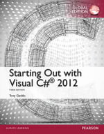 Starting Out with Visual C# 2012 - Tony Gaddis