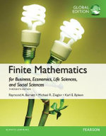 Finite Mathematics for Business, Economics, Life Sciences and Social Sciences, Global Edition - Raymond A. Barnett