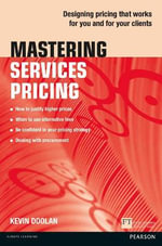 Mastering Services Pricing - Kevin Doolan