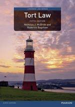 Tort Law : Longman Law Series - Nicholas J. Mcbride