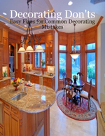 Decorating Don'ts - Easy Fixes for Common Decorating Mistakes - M Osterhoudt
