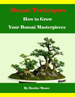 Bonsai Techniques - How to Grow Your Bonsai Masterpieces - Deedee Moore