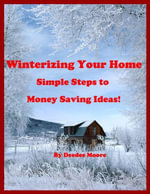 Winterizing Your Home - Simple Steps to Money Saving Ideas! - Deedee Moore