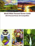 World Wide Pressed Flower Guild 2014 Pressed Flower Art Competition - Kate Chu