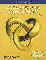 Precalculus W/Limits - Ron E. Larson